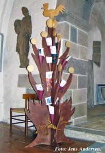 Salmetræet i Hune kirke 2010